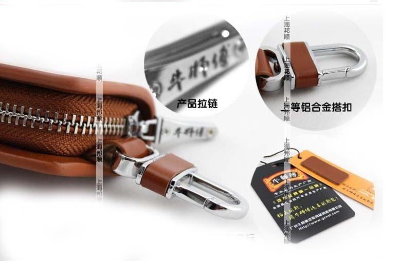 free shipping!!women&men for Cadillac car logo cowhide genuine leather key bags key case key holder gift type 2
