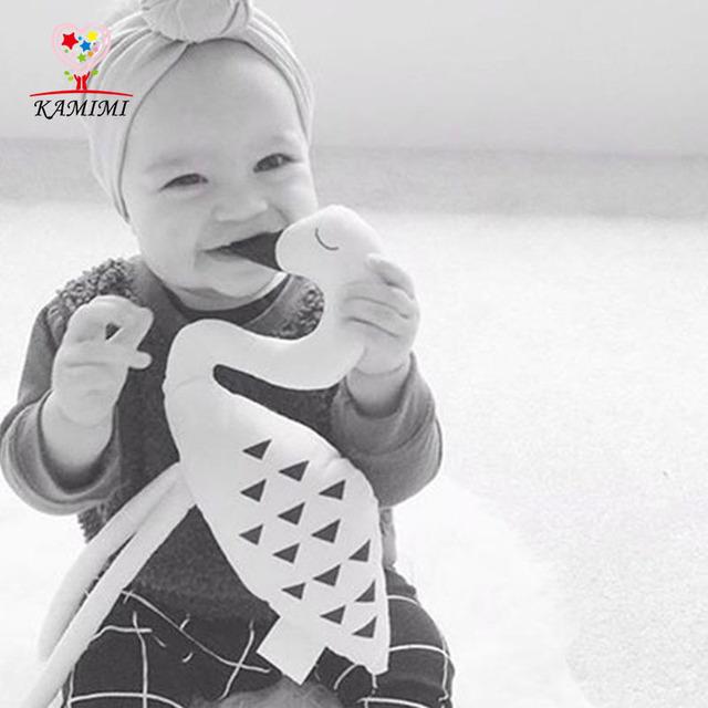 KAMIMI Personalizado Bebé Niños Cisne Almohada Almohada Infantil Del Niño Apoyos de la Fotografía Infantil Bebé Reforzar XYM459