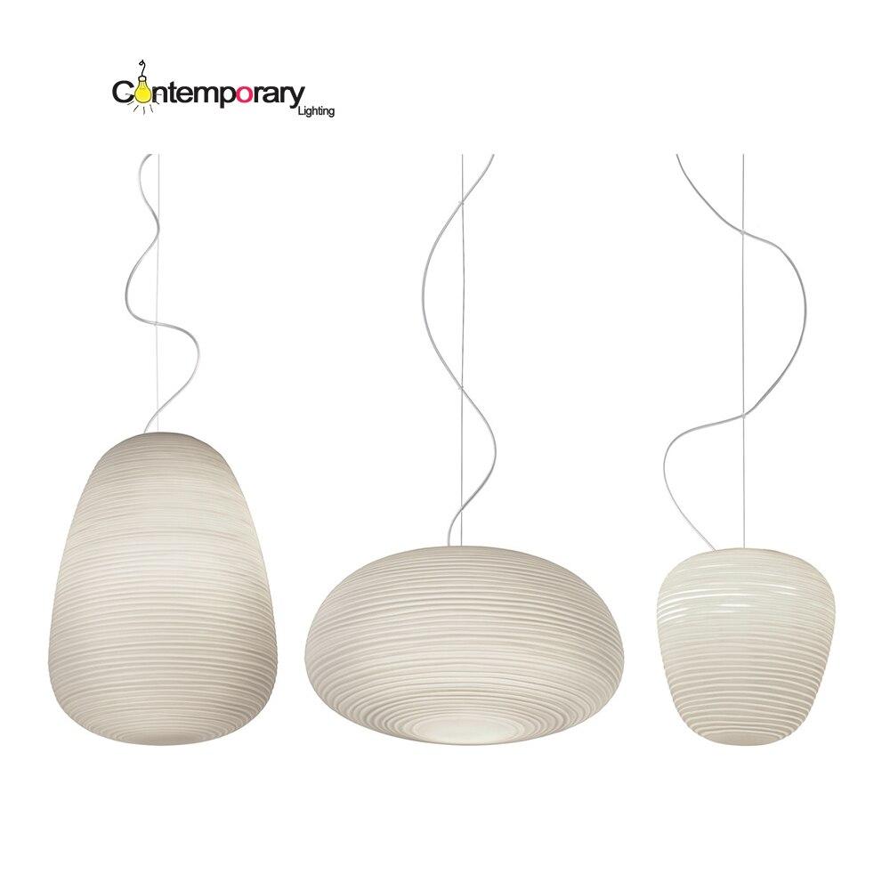 White Glass font b Oriental b font font b lantern b font shape Scandinavian design replica