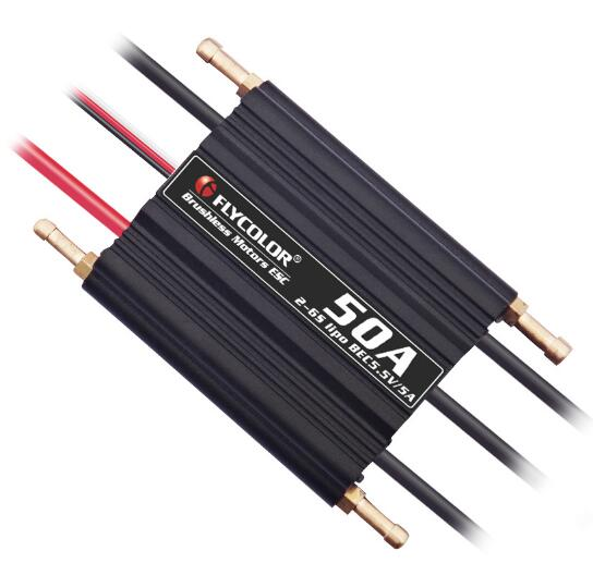 Image 5 - Flycolor 50A/70A/90A/120A/150A Speed Controller Brushless ESC Support 2 6S BEC 5.5V/5A for Model Ship RC Boat-in Parts & Accessories from Toys & Hobbies