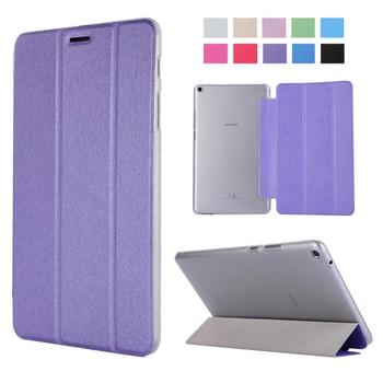 Перейти на Алиэкспресс и купить Роскошный чехол для планшета Huawei Mediapad T3 8 с подставкой и откидной крышкой, кожаный чехол для Honor Play Pad 2 8,0 дюймов KOB-L09 KOB-W09