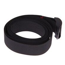Load 125kg Durable Black Nylon Cargo Tie Down Luggage Lash Belt Strap