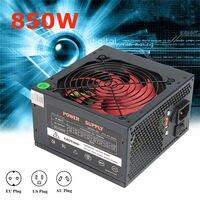 ATX PC US AU EU Plug 80 Efficiency 850W PC BTC Power Supply 850 Watt 24