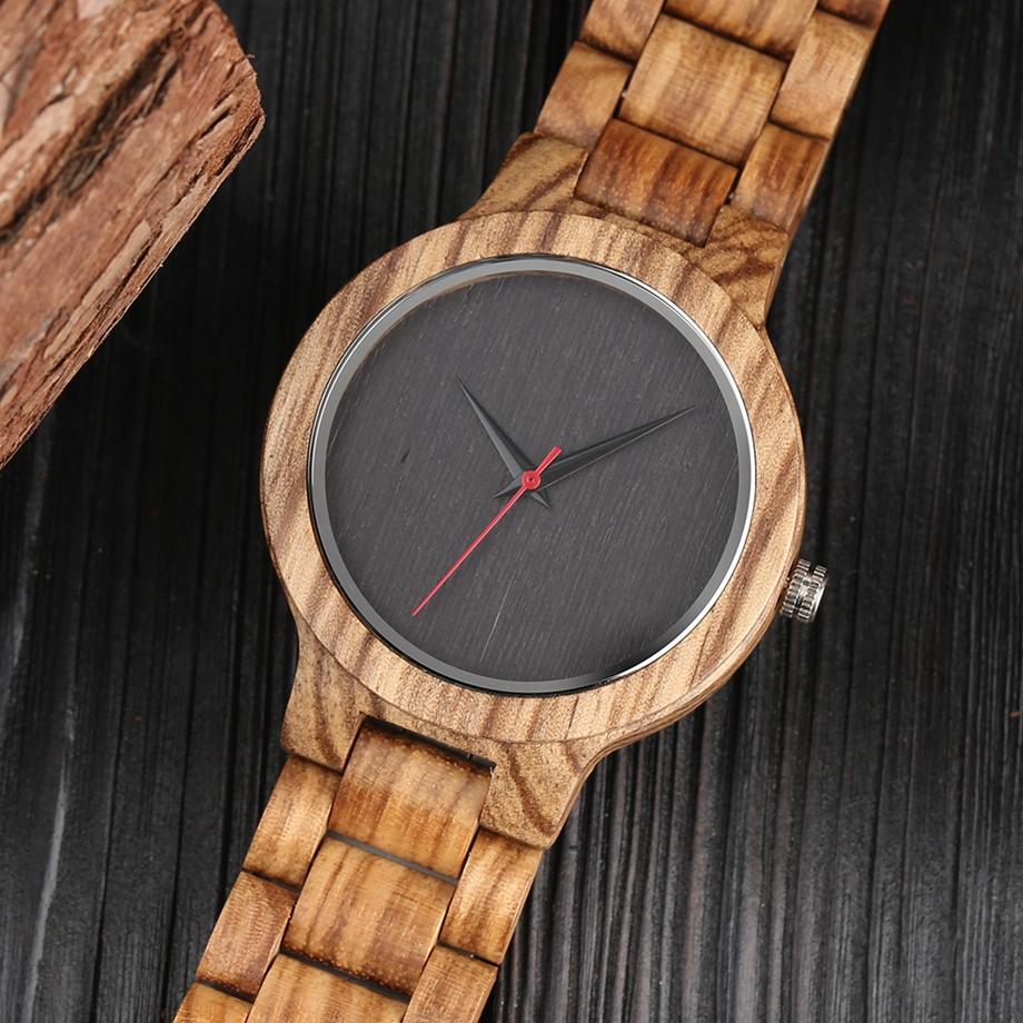 YISUYA Wooden Watches Quartz Analog Men Bamboo Modern Wristwatch Nature Wood Top 2018 Creative Sports Clock saat Xmas Gifts (13)