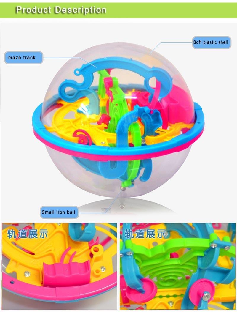 3D labürindi pall