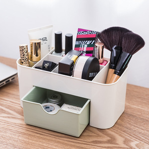 Plastic Makeup Organizers Storage Box Cosmetic Drawers Jewelry Display Box Case Desktop Make Up Container Boxes Organizer