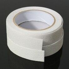 Низкая цена, противоскользящая Водонепроницаемая Ручка для ванной, полоски для душа, лента для пола, защитная лента, коврик, Нескользящая лента для ванной, наклейка, 5 м x 25 мм