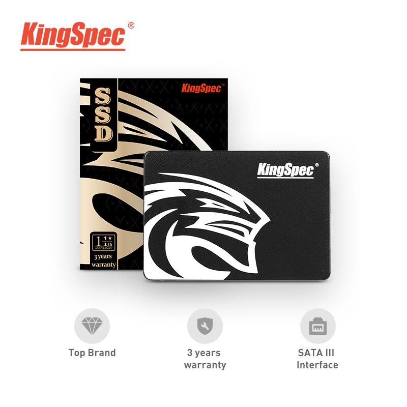 Kingspec SATA3 90gb SSD 180gb Hard font b Drive b font Disk SATAIII 360gb 2 5