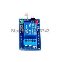 10PCS LSR Light Sensitive Sensor Relay Photosensitive Optical Relay Module 12V For Arduino DIY Free Shipping