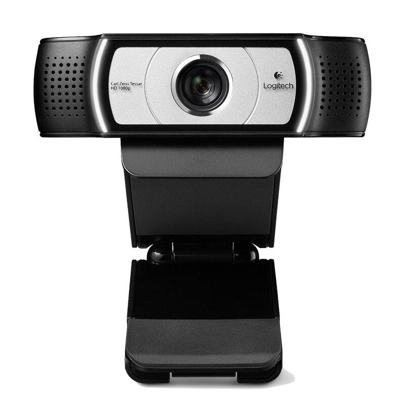 Logitech C930e USB escritorio o portátil Webcam, HD 1080 p Cámara