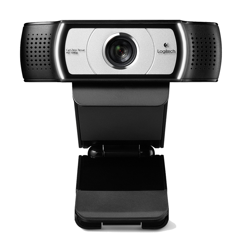 Logitech C930e Webcam de bureau ou d'ordinateur portable USB, caméra HD 1080 p