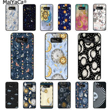 MaiYaCa Sun Moon Stars Coque Shell Phone Case for Samsung note 3 4 5 7 8 9 Huawei P9 lite mate 20 X Pro cover(China)