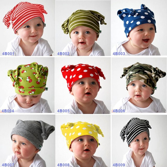 9 Different Styles Baby Hat Goat Horn Children Long Ear Shape Cartoon  Cotton Horn Knot Unisex Baby Cap Boys Girls Accessories -in Hats   Caps  from Mother ... d84bd2e1d50