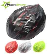 Rockbros Windproof Waterproof Dust-proof Rain Cover MTB Road Bike Helmet Cover Bicycle Cycling Helmets Covers New, 4 Colors