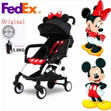 In Stock Baby Stroller Umbrella Trolley Poussette Kinderwagen Bebek Arabas Buggy Stroller Pram with 10 Accessory
