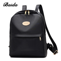 Nylon Backpack 3 Pcs Set Women Bag High Quality Travel Backpack Colorful Shoulder Bags Coin Collect