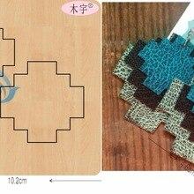 Неровный узор eardrop-1 DIY новая деревянная форма режущие штампы для скрапбукинга Толщина/15,8 мм/YT0688