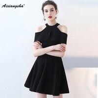 2018 Graduation Dresses Vestido De Festa Cheap Prom Simple Style Custom Color And Size Plus Size