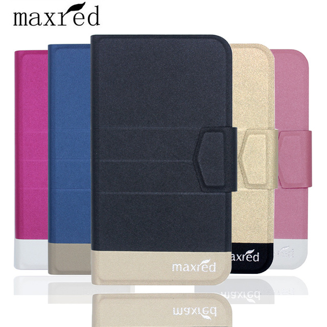 Maxred Original! Vernee M5 Case 5 Colors Fashion Luxury Ultra-thin Flip Leather Protective Cover Phone Case