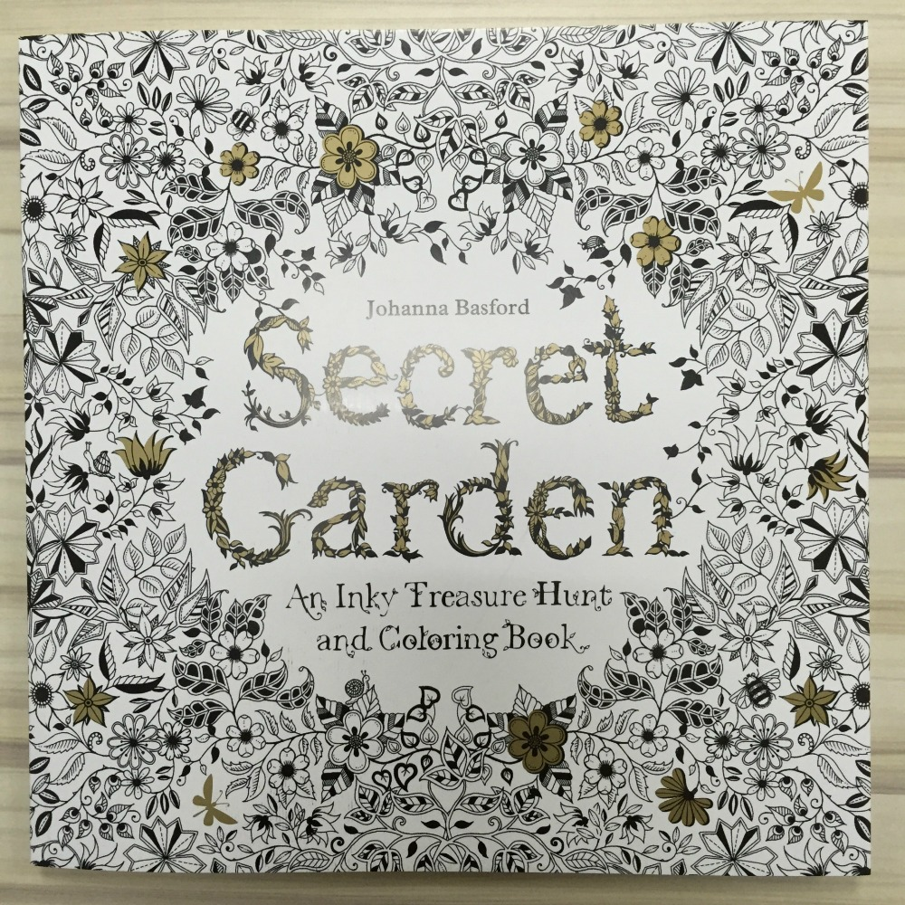 Stress coloring books for adults - Aliexpress Com Buy Secret Garden An Inky Treasure Hunt And Coloring Book For Children Adult Relieve Stress Kill Time Graffiti Painting Drawing Book From