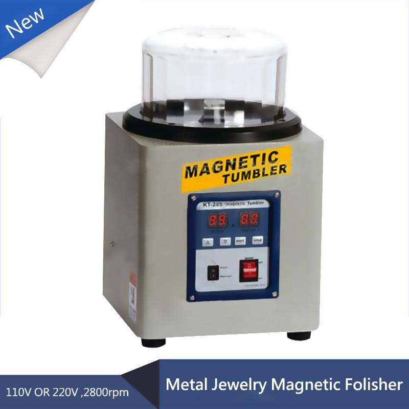 KT-205 800g 110V / 220V feromagnetický výkonný magnetický stavítko výkonný elektrický magnetický lešticí stroj
