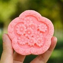 Силиконовая форма для мыла форма для выпечки кекса ручной работы DIY декоративный инструмент для цветов