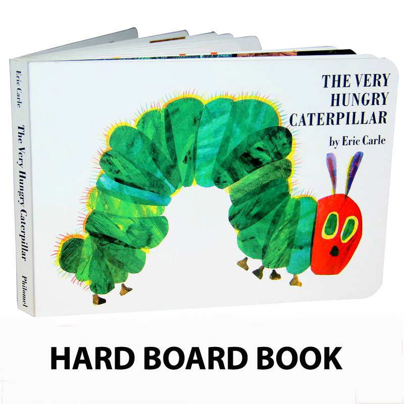 The Very Hungry Caterpillar by Eric Carle - Book Review |Hungry Caterpillar Book