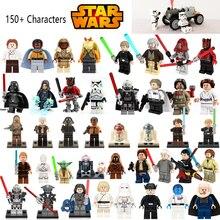 Star Wars Figures Jedi Chewbacca Han solo Darth Vader leia legoing Jango Fett Obi Wan Models
