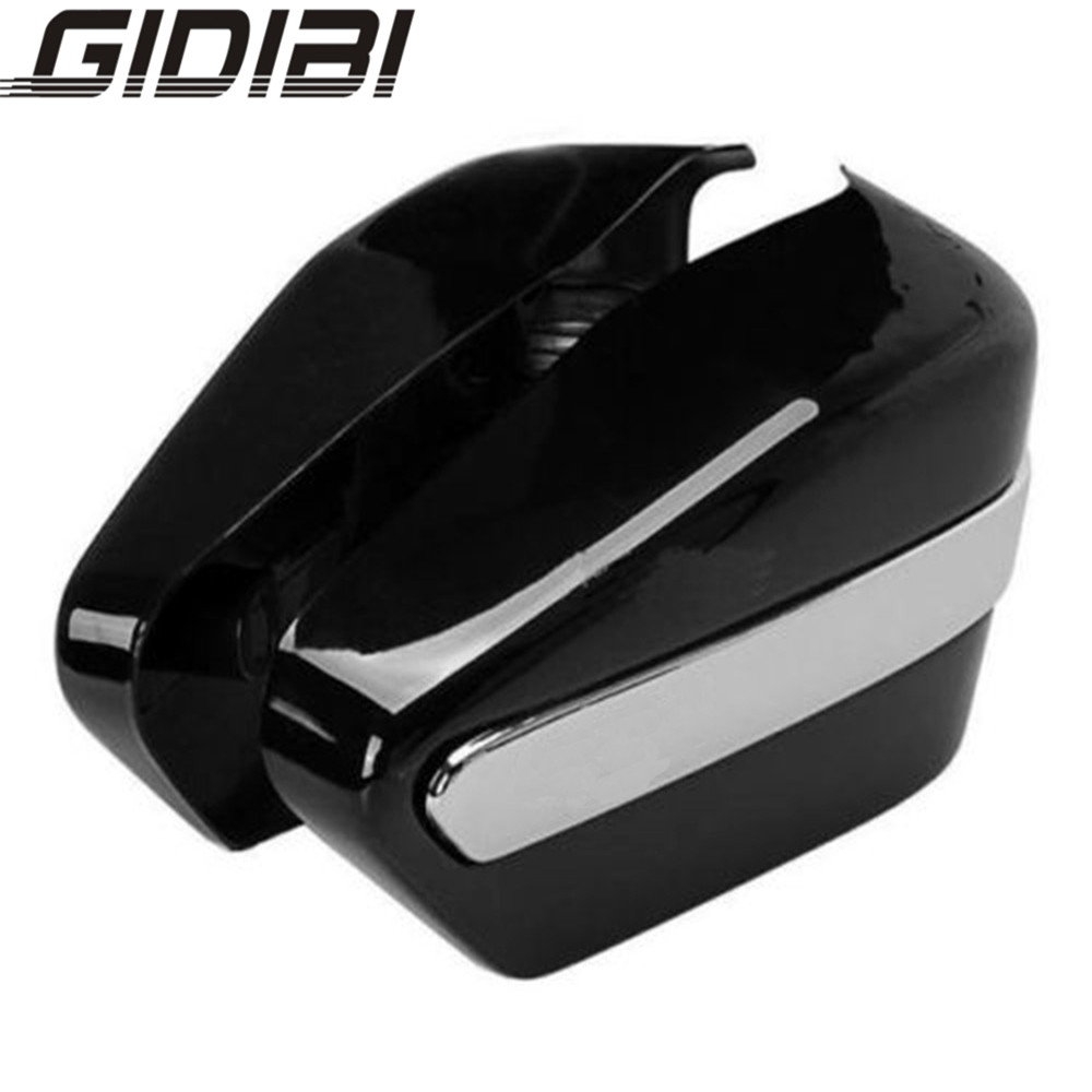 For Honda Rebel CA250 Black Motorcycle Battery Covers Two Sides Fairing One Pair