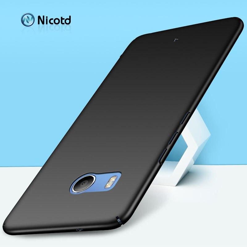 Luxury Plastic Matte Phone Case For HTC U11 5 5 inch Super thin Slim Hard PC