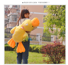 large plush toy 100cm prone duck plush toy throw pillow , cushion for leaning on, Christmas gift w1900