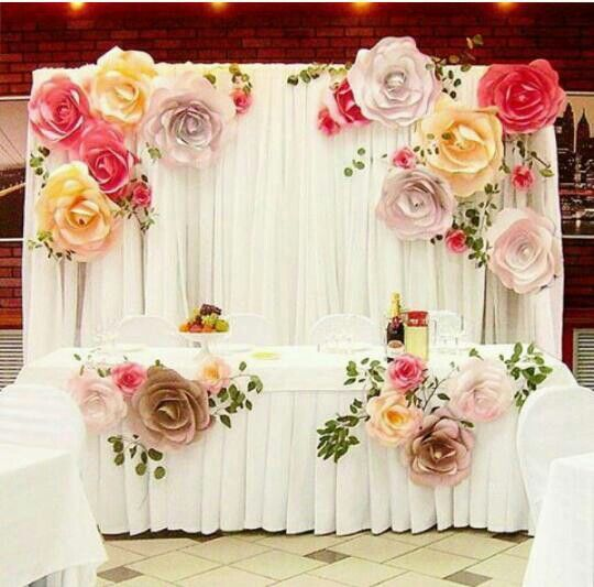 Aliexpress buy more color size diy paper flower backdrop for more color size diy paper flower backdrop for wedding custom paper flower wall decoration party supplies mightylinksfo