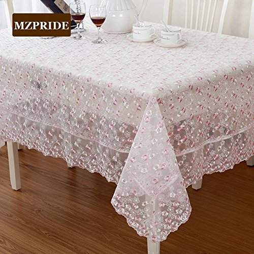 Bon Aliexpress.com : Buy WINLIFE Little Flowers Embroidered Table Clothes Sweet  Vintage Floral Lace Table Cover From Reliable Lace Table Covers Suppliers  On ...
