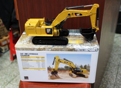 DM Model Caterpillar Cat 390F L Hydraulic Excavator DieCast Metal Tracks 1/50 Metal Model By DieCast Masters DM85284