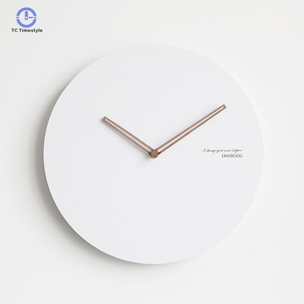 Creative Wall Clocks Home Decorative Modern Nordic Wall Clock Minimalist Large Wall Clock Bedside Mute Watches