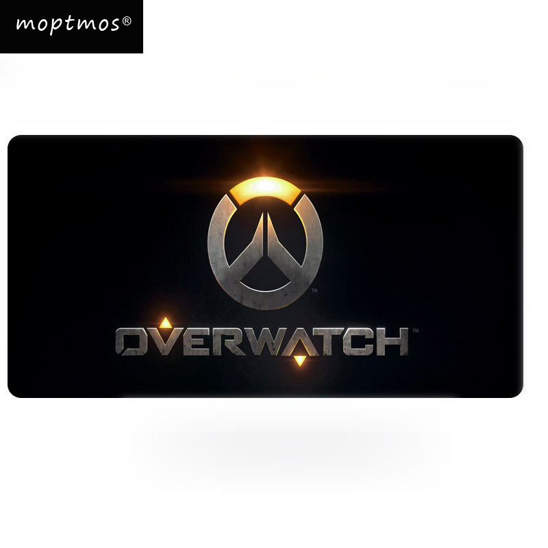 Game Overwatch Large Gaming Mouse Pad Rubber Soft Large Gaming Mouse Pad Mat
