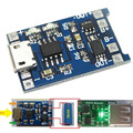 5 pcs micro usb 5 v 1a bateria de lítio de 18650 de carregamento carregador placa do módulo com funções de proteção dupla para arduino diy Kit