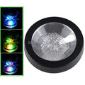 Free shipping 5PCS/Lot High Quality Colorful Changing LED Light Drink Glass Bottle Cup Coaster Mat Bar Party Xmas Gift