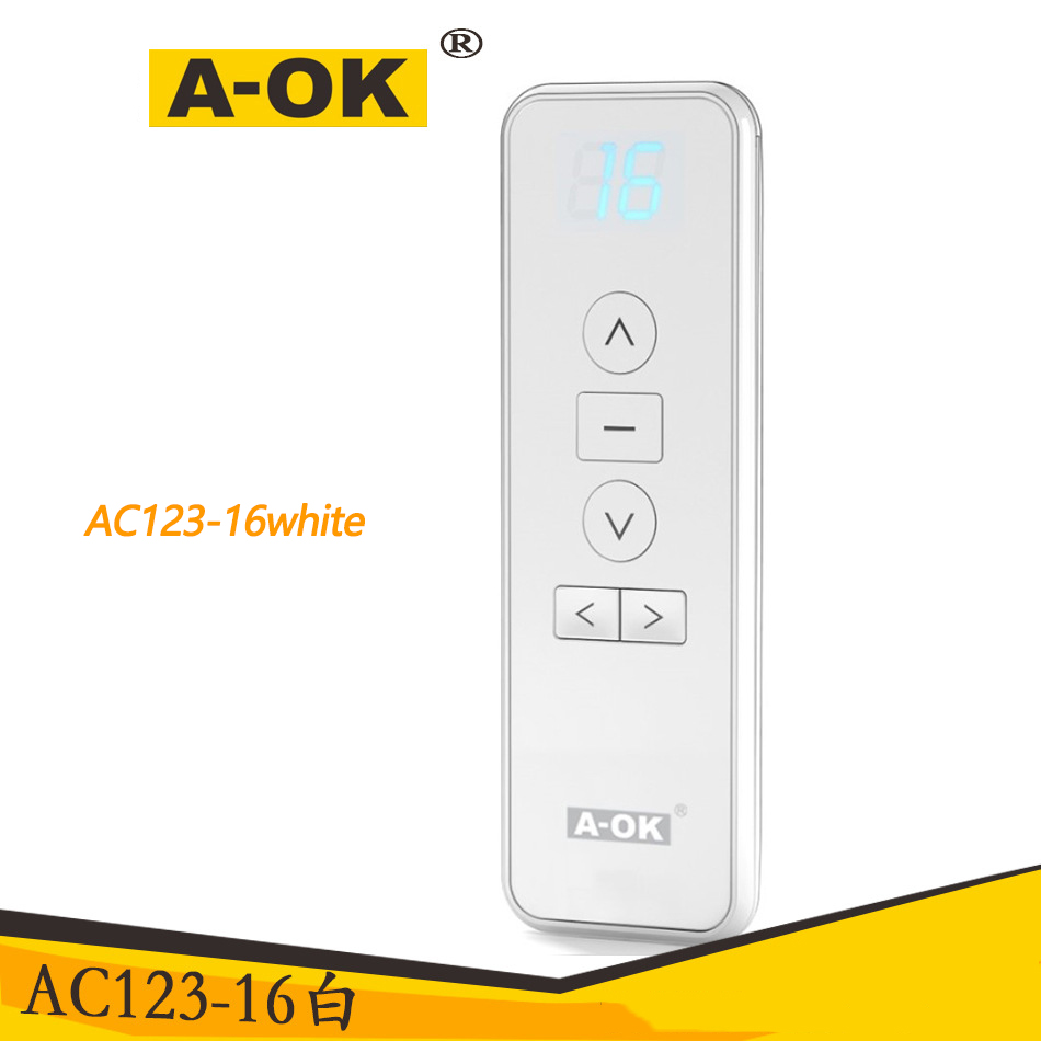 Original Aoke D Electric Curtain Remote Control, Multi-channel Remote Control Smart Home Preferred