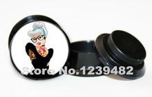 Wholesale 60pcs anime plugs punk pincess ear plug flesh tunnel gauges ear expander body jewelry ASP0433