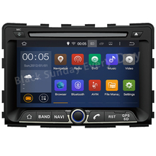 Free shipping  Quad core 7″ HD 1024*600 Android 5.1 Car DVDPLAYER DVD GPS RADIO navigation Stereo for Ssangyong Rexton Rodius