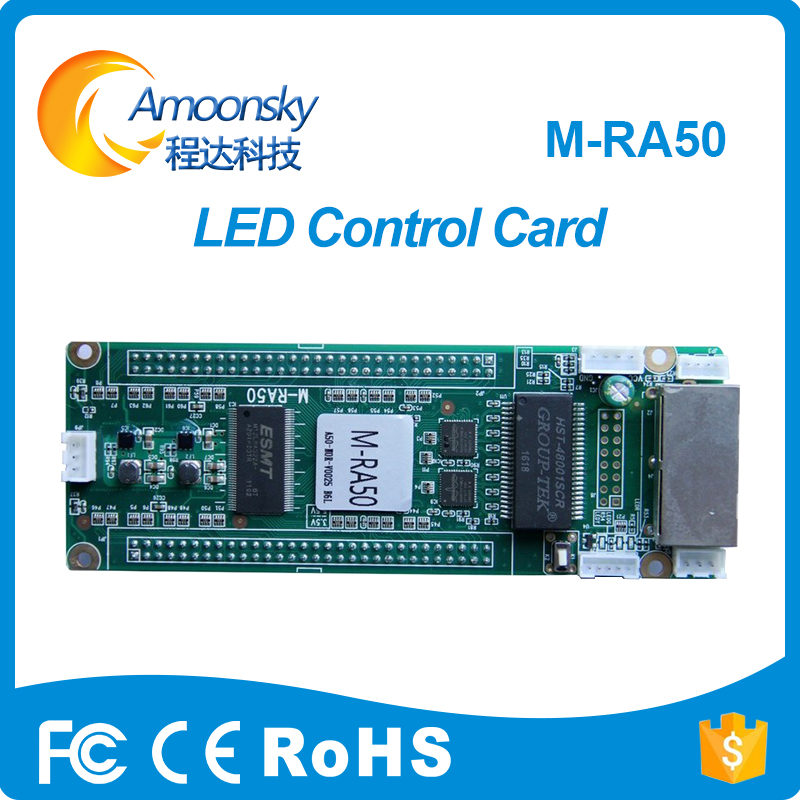 Mooncell M-Ra50 Led Receiving Card For Video Sign Led Display Module Controller