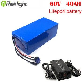 60В 2000 Вт ebike Lifepo4 аккумулятор для электрического велосипеда 60В 40ач литиевая батарея для электрического скутера