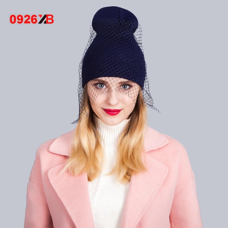 0926XB New supermodel veil street snap Net yarn knitted cap Autumn winter head knitted hat ladies women Retro mesh hat XB-D656 лак для ногтей fnug fnug supermodel