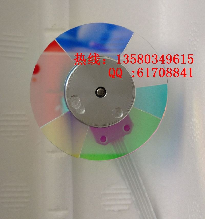Top Recommended 6 Segment Original Projector Color Wheel for Projector Optoma DP324,DX319 original projector color wheel for optoma ex540i