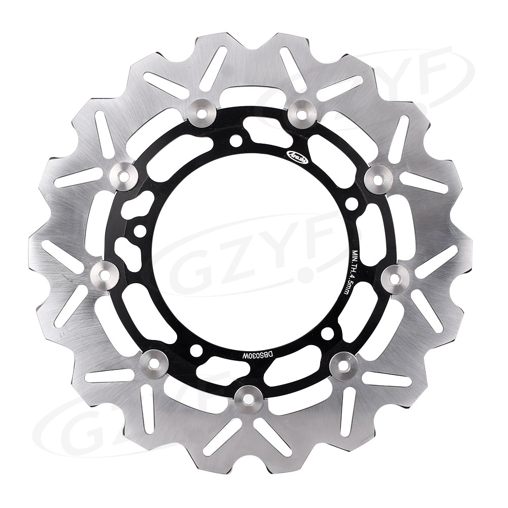 Motorcycle Front Brake Disc Rotor Replacement For Yamaha MT-03 ABS 320 YZF R3 R25 XSR900 850 Black 1PC