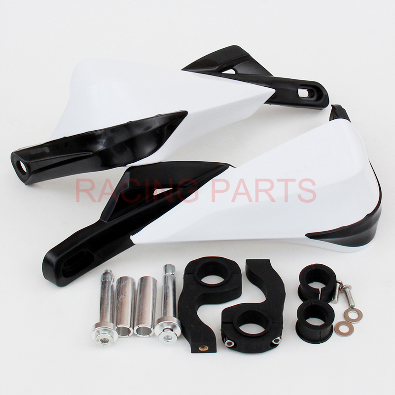 Fat Bar Motorcycle Motorcross Supermoto Handlebar handguards Hand Guards Fit CRF YZF KXF 7 8 quot 22mm Or 1 1 8 28mm in Falling Protection from Automobiles amp Motorcycles