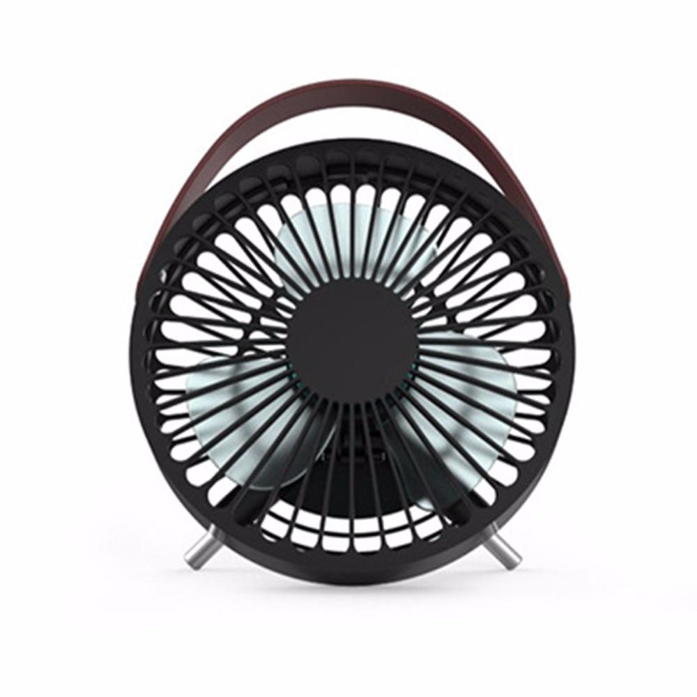 Mini Fan Desk USB Fan METAL Desktop Desk Silent Laptop PC Quiet Cooler Fan USA