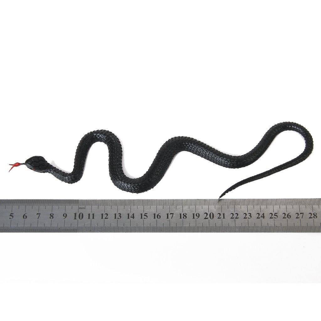 Nouveau serpent en caoutchouc semblant astuce jouet accessoires de jardin