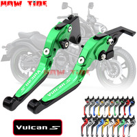 For KAWASAKI VN 650 VULCAN S VN650 VULCANS 2015 2016 2017 2018 Motorcycle Accessories Folding Extendable Brake Clutch Levers